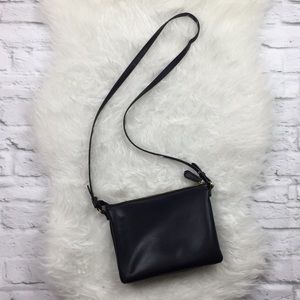 Old Navy Black Crossbody Bag 2 Compartments